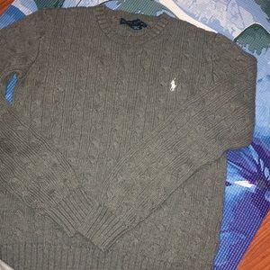 Unisex Gray Knit Sweater